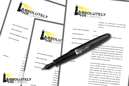 Absolutely HR | Contracts of Employment | Edinburgh